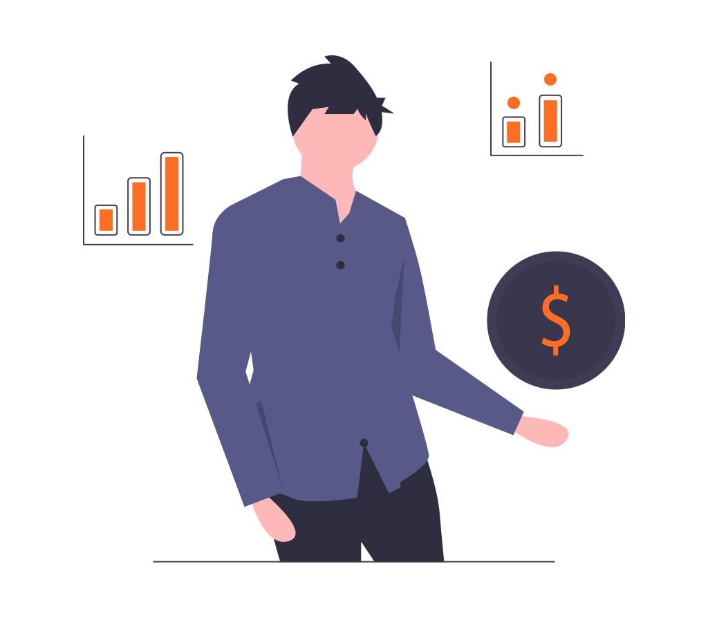 Ilustração estratégia de preços