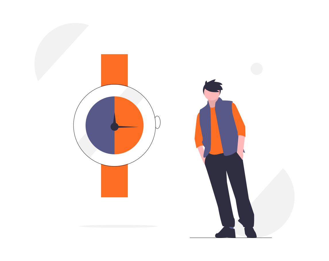 Ilustração - Gestão de tempo