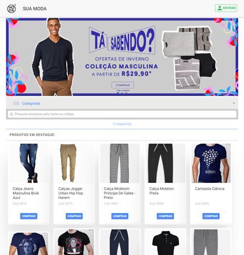 UPlaces - Catalogo online - Roupas e acessórios
