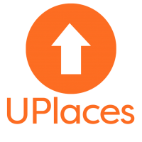 UPlaces - logo - vertical